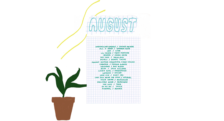 August/September 2017 - Self Love playlist